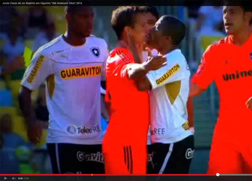 Video Junior Cesar Diguinho