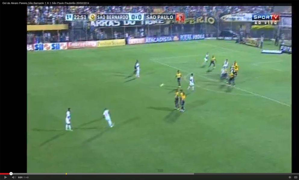 Video, Pereira gol