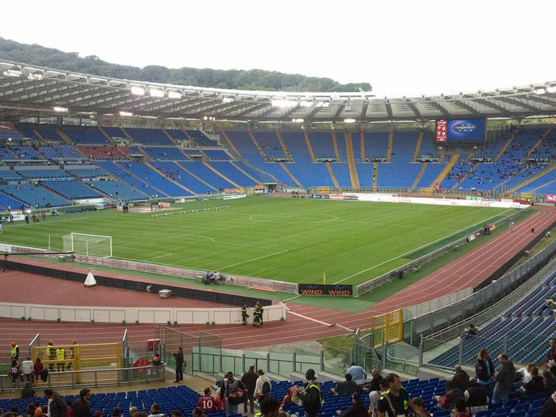 barriere stadio olimpico