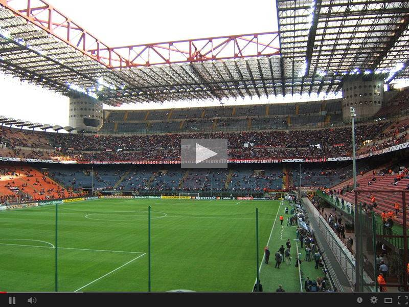 video milan-livorno