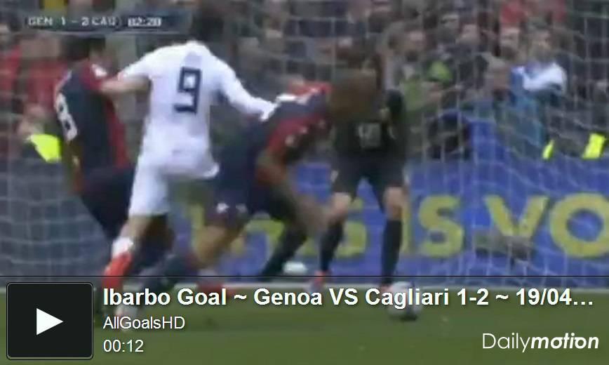 Video Genoa-Cagliari