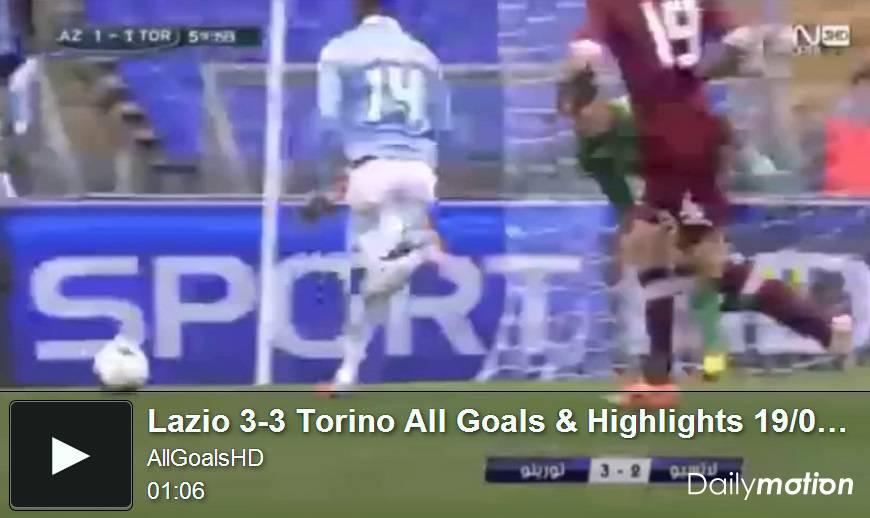 Video Lazio-Torino