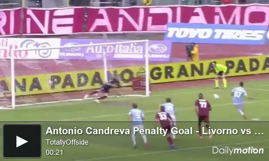 Video Livorno-Lazio