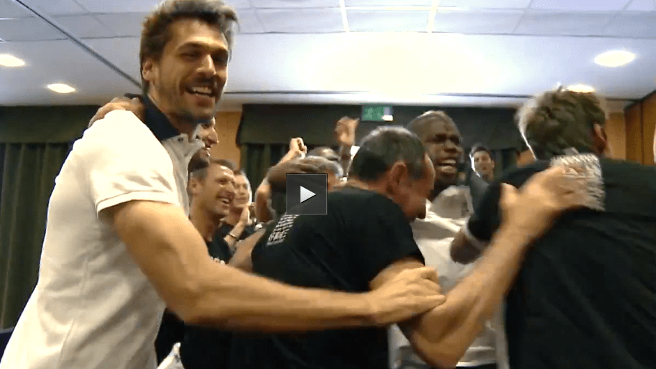 Juventus campione, festa scudetto