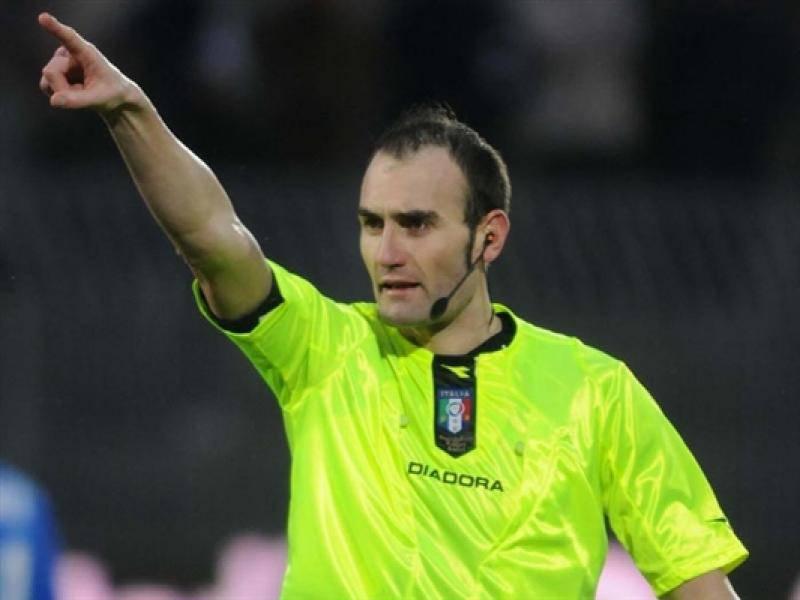 Serie A, designazioni arbitrali 37a giornata