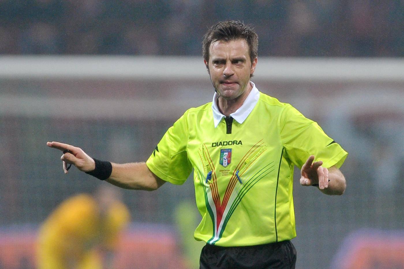 Serie A, designazioni arbitrali 38a giornata