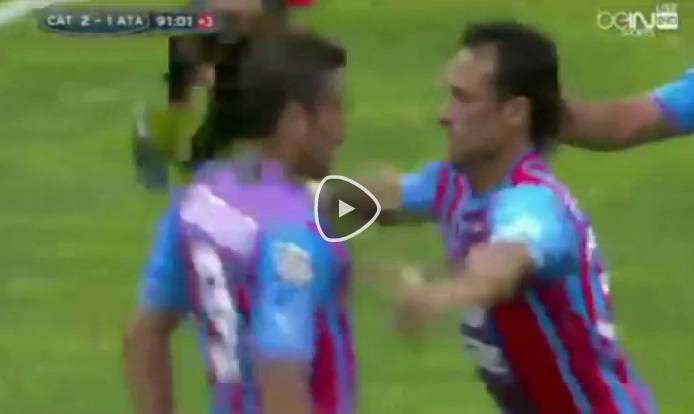 Video Catania-Atalanta