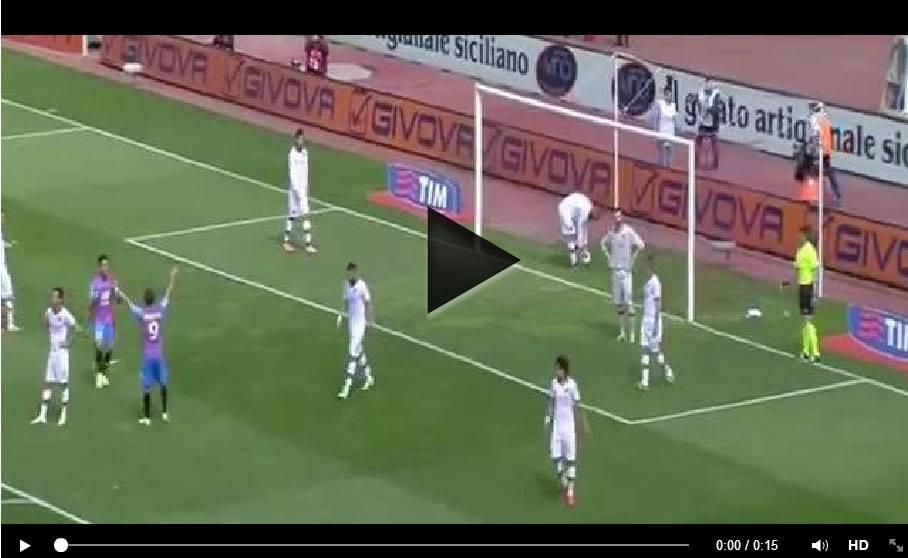 Video Catania-Roma