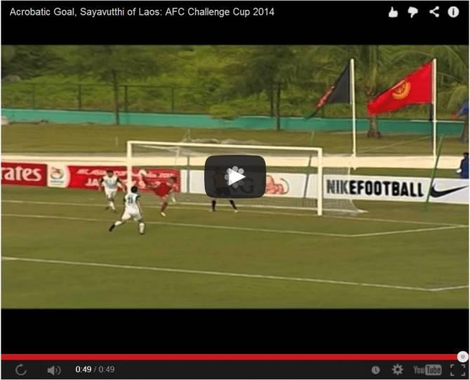 Video, incredibile rovesciata e gol spettacolare