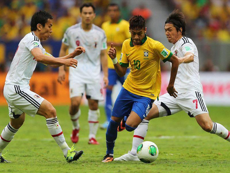 Brasile-Messico, probabili formazioni