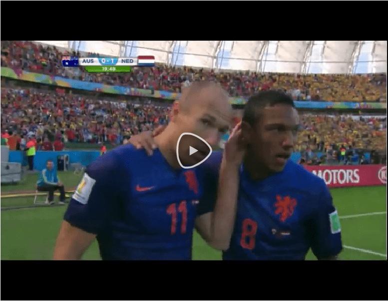 VIDEO Australia-Olanda