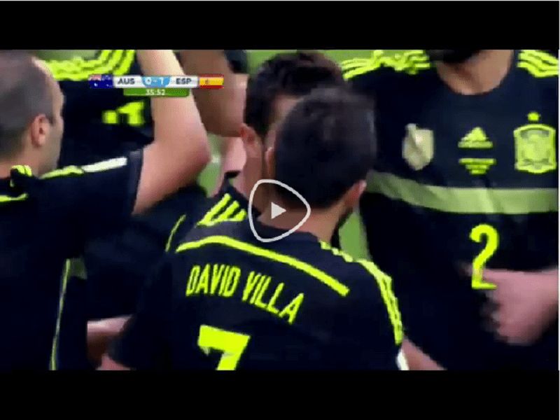 VIDEO Australia-Spagna