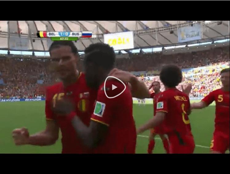 VIDEO Belgio-Russia