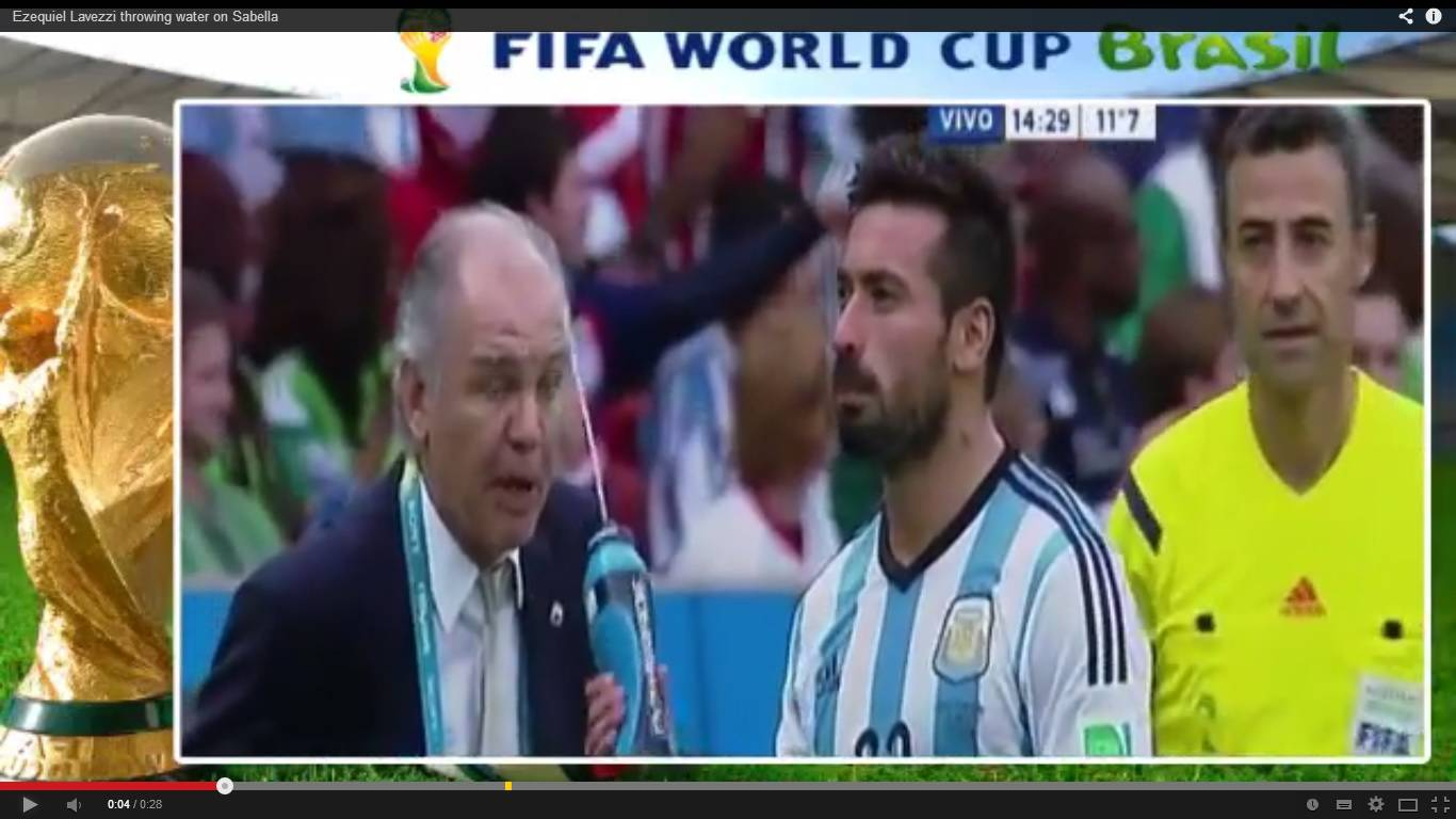 Video Lavezzi, Sabella