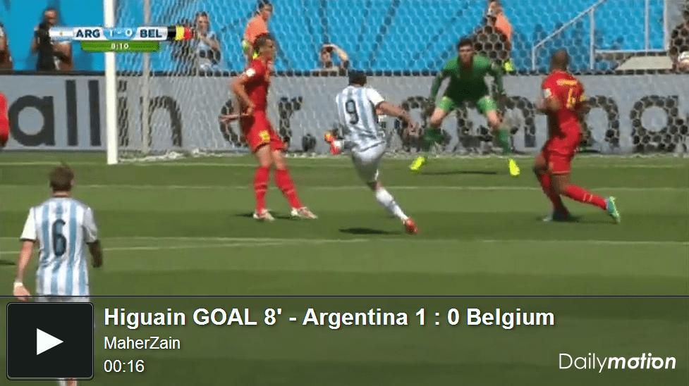 VIDEO Argentina-Belgio