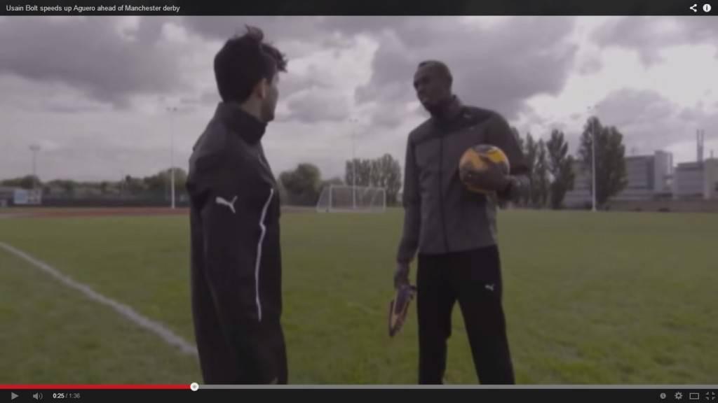 Video Aguero-Bolt