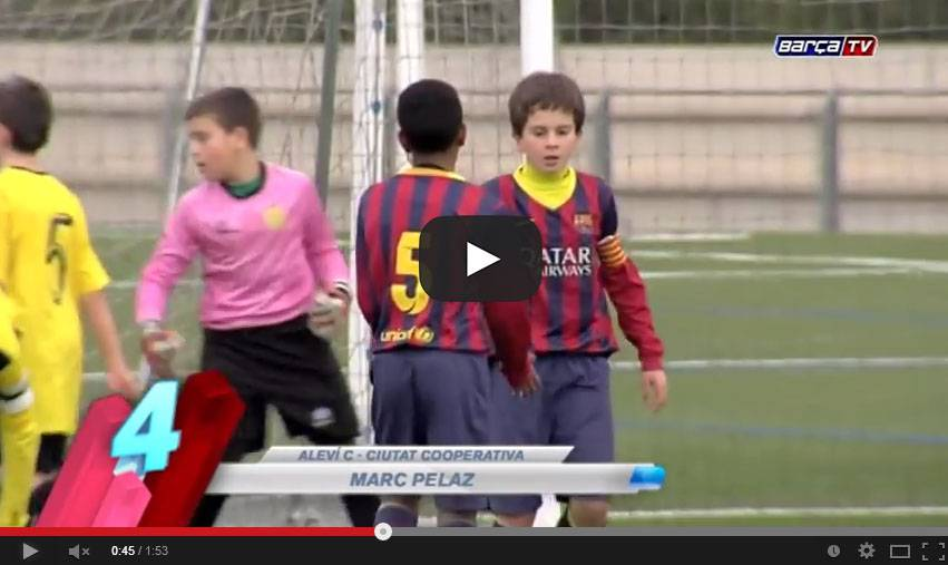 Video, Cantera Barcellona