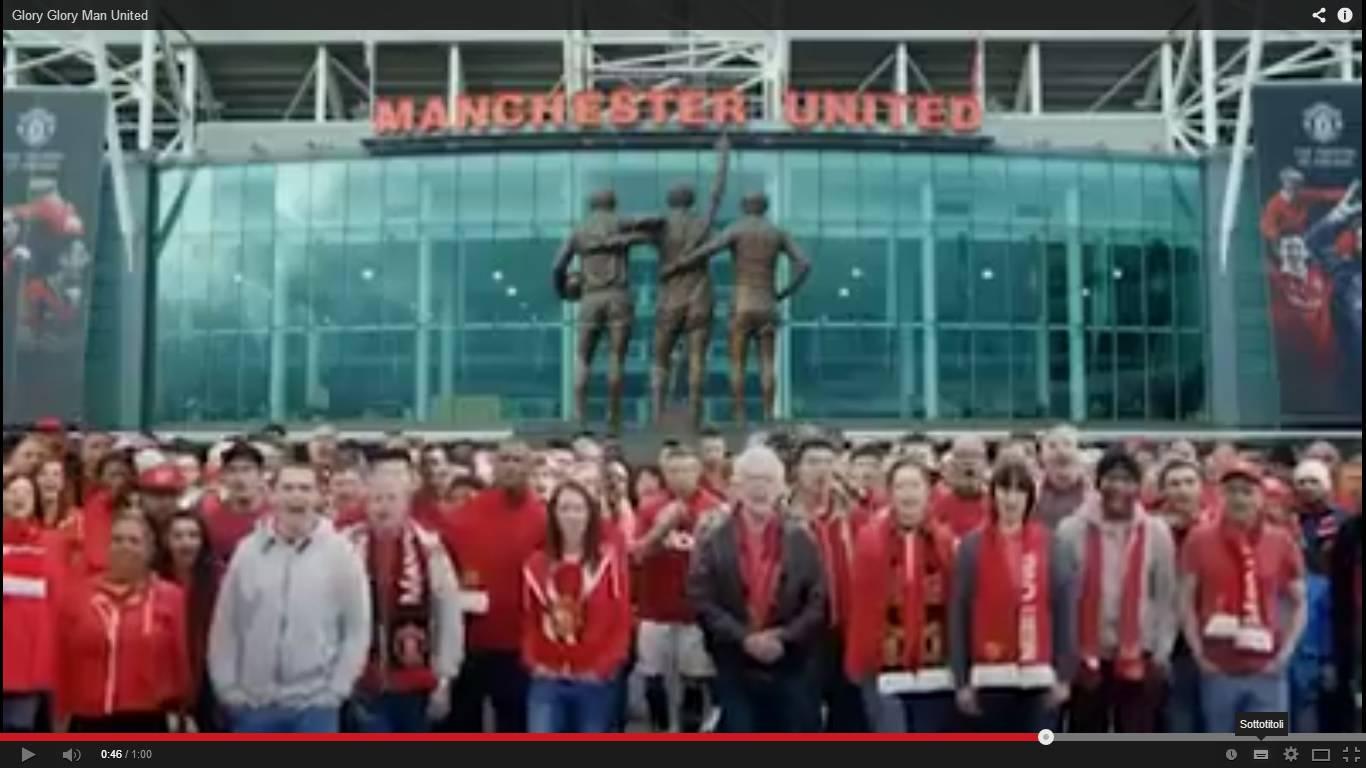 Video nuova maglia Manchester United