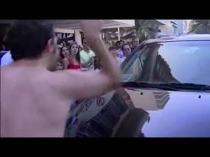 Video, tifoso messicano