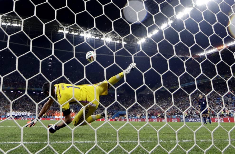 Argentina-Olanda, Romero vs Sneijder