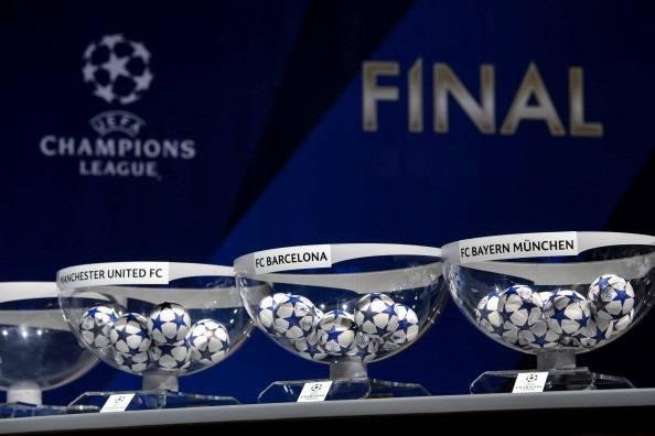 Sorteggio Champions: LIVE dalle ore 12