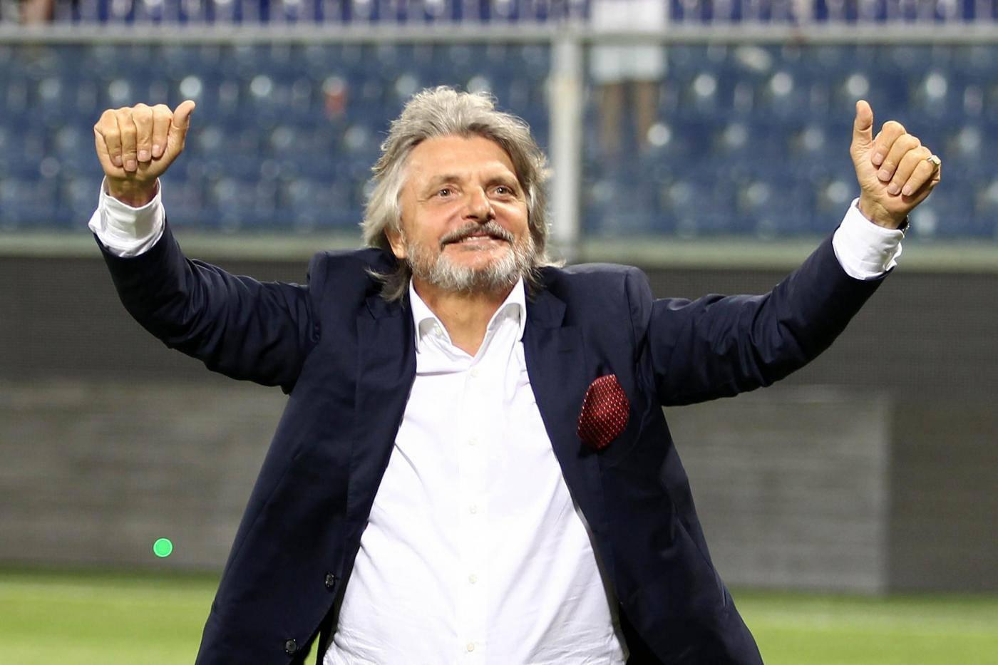 Sampdoria, Ferrero