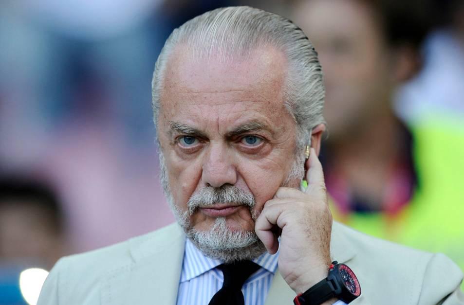 """Napoli, De Laurentiis: """"Fatturato Juve? Io avrei vinto 10 sc"""