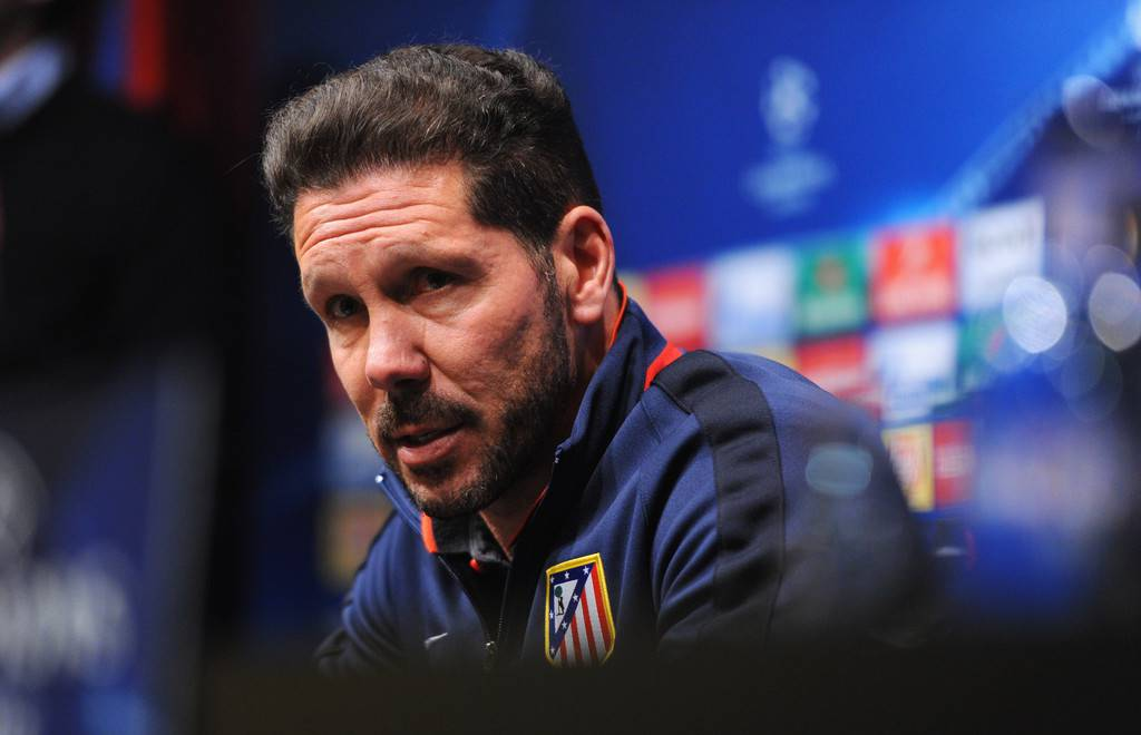 roma-atletico madrid, simeone