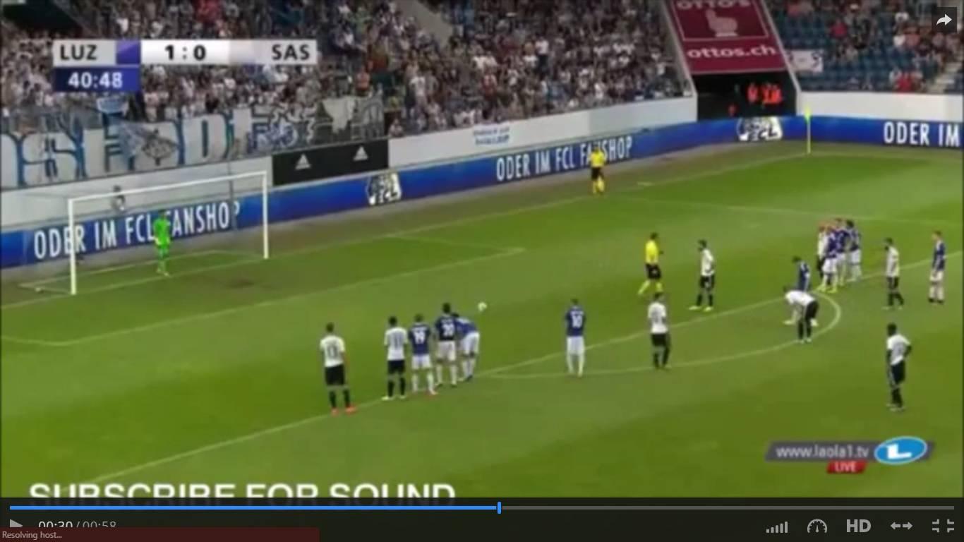 LUCERNA SASSUOLO Rojadirecta Streaming Gratis Diretta Calcio TV, preliminari Europa League
