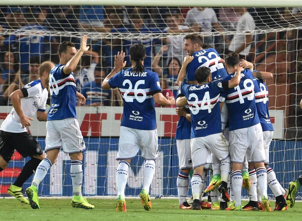 highlights inter-sampdoria 1-2