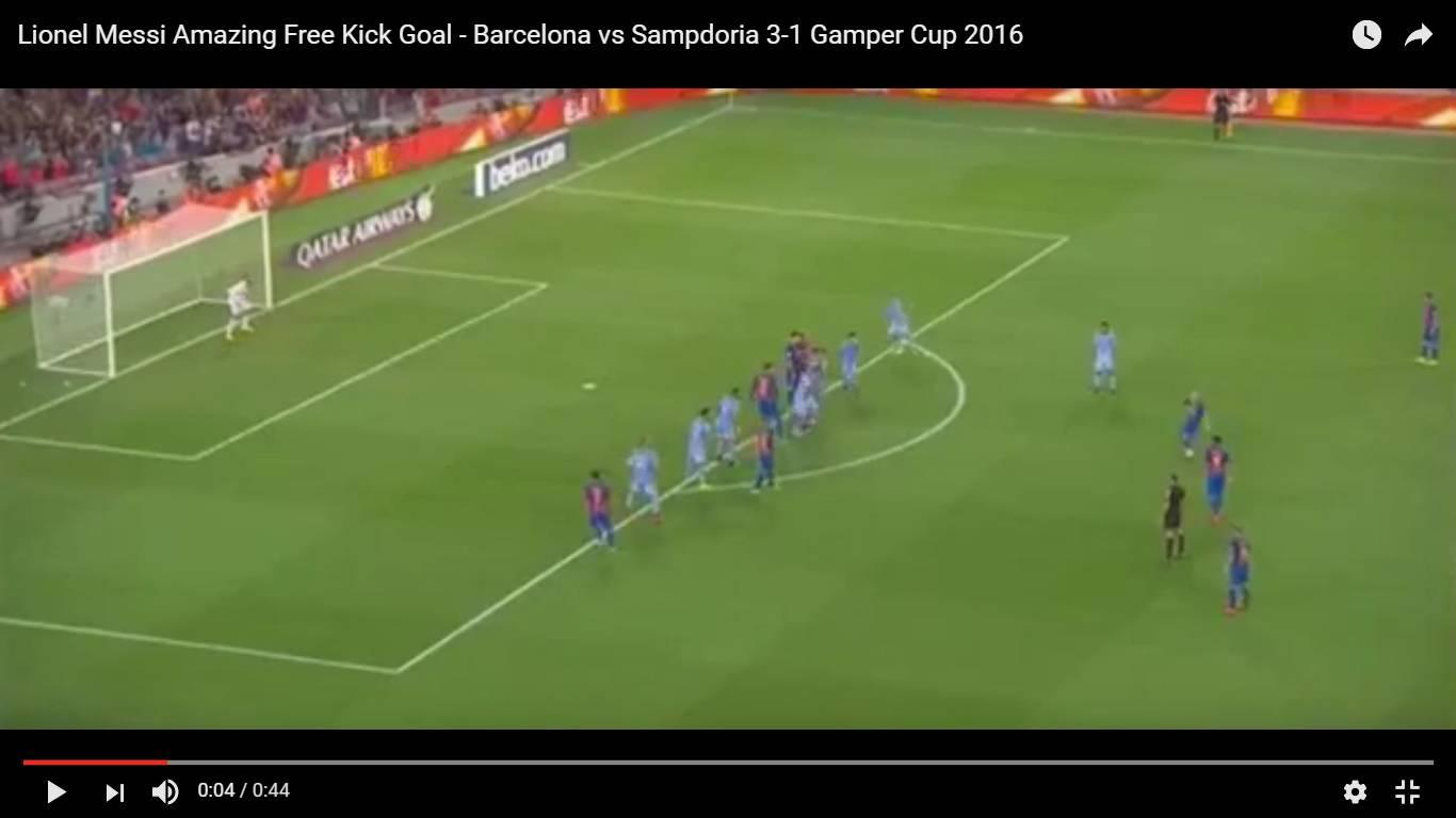 Trofeo Gamper, la Samp non crolla: vince il Barcellona 3-2
