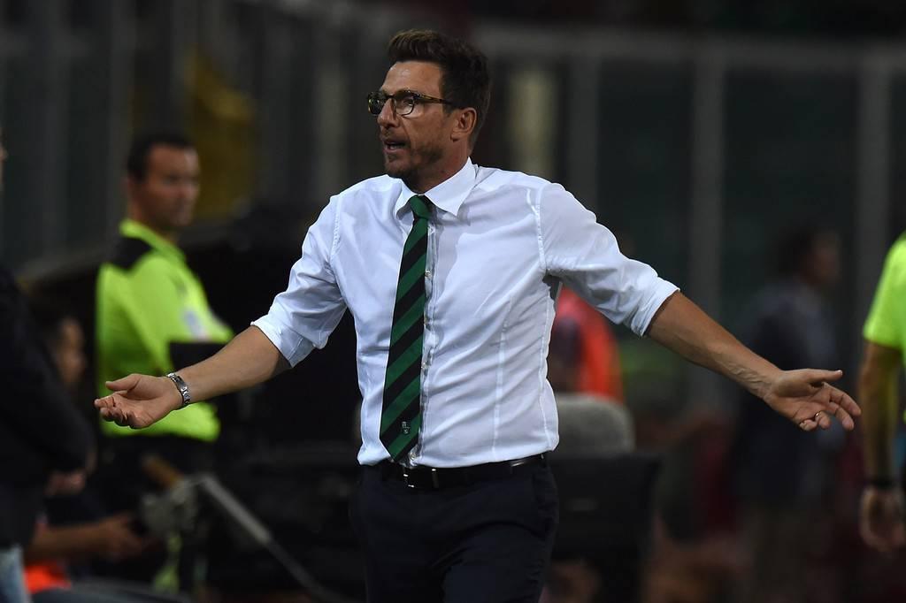 Di Francesco, Sassuolo pronto per Juve