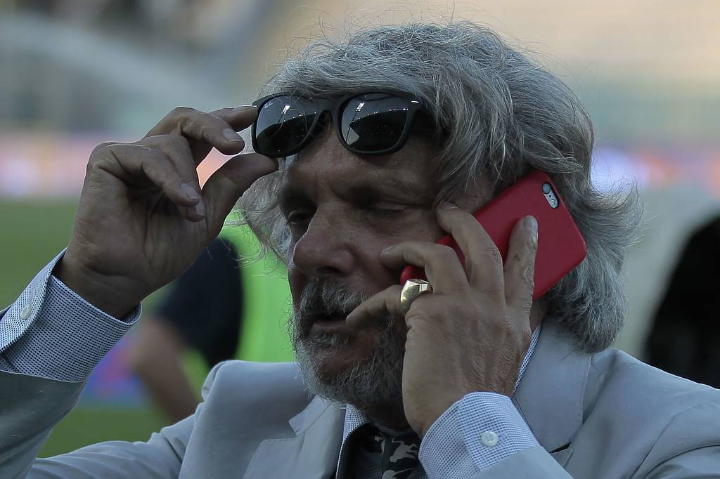 Massimo Ferrero: ''Se Cassano andava all'Entella...''