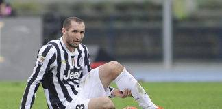 infortunio Chiellini