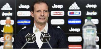 Supercoppa conferenza Allegri