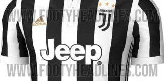Juventus, nuova maglia 2017/2018