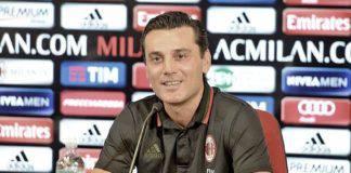 """Chievo-Milan, Montella: """"Vittoria che trasmette convinzione"""""""