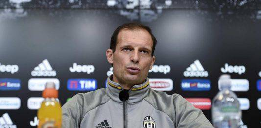 "Juventus Frosinone, Allegri: ""In casa dell'Atletico dovremo"