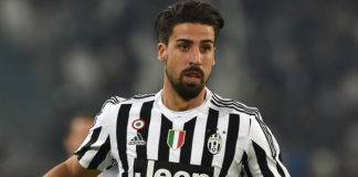 infortunio Khedira