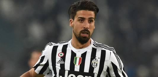 Juventus, infortunio Khedira: a rischio per la Spal