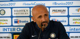 Rapid Vienna Inter conferenza Spalletti
