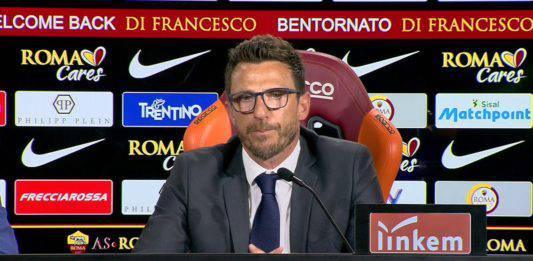 """Roma Cska Mosca, Di Francesco: """"Abbiamo fatto cose interessa"""