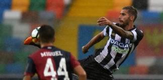 Udinese Cagliari probabili formazioni