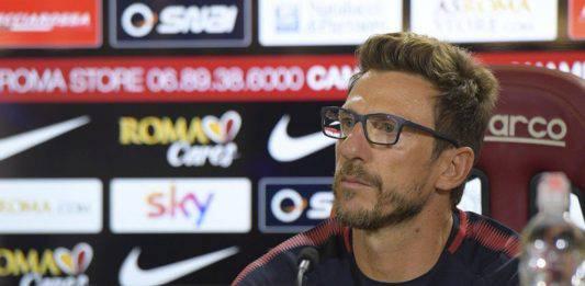 """Roma-Spal, Di Francesco: """"De Rossi sarà un ottimo allenatore"""""""