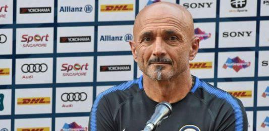 """Inter-Sampdoria, conferenza Spalletti: """"Su Icardi presa una scelta dolorosa"""""""
