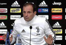 Udinese-Juventus, Allegri