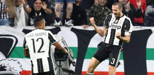 Infortunio Chiellini e Bonucci |  il capitano rientra col Frosinone  Il 19 in forse