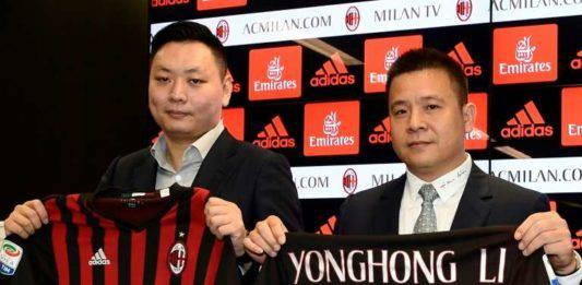 Milan, Yonghong Li non onora un altro debito. Ritirato il pa
