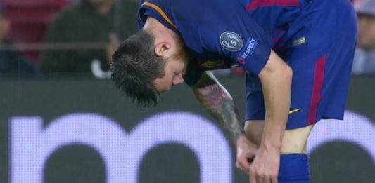 Liga: Messi fa crac in Barcellona Siviglia. Fuori 3 settiman