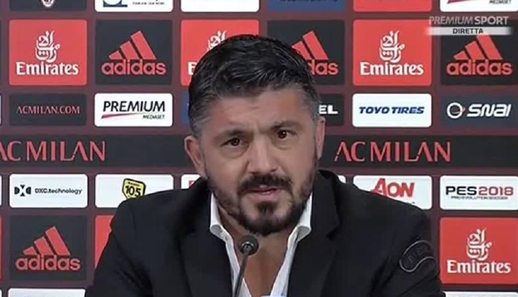 Frosinone Milan Gattuso